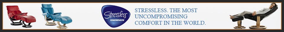 Stressless. The most uncompromising comfort in the world.